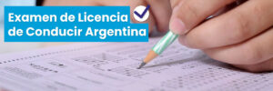 Examen de Licencia de Conducir Argentina