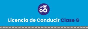 Licencia de Conducir Clase G